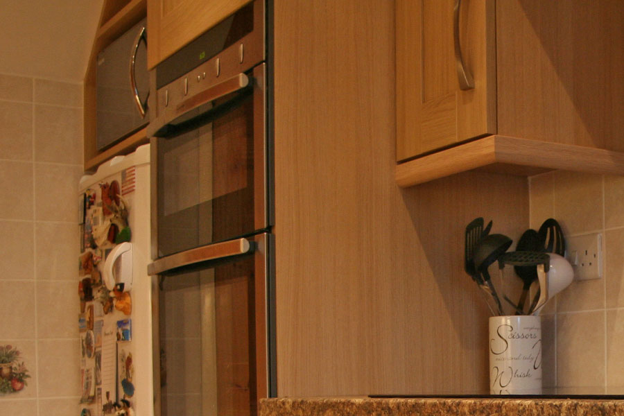 6 Bespoke Microwave Cupboard